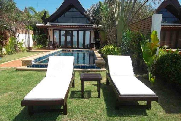 Koh Lanta Beach Front Villa